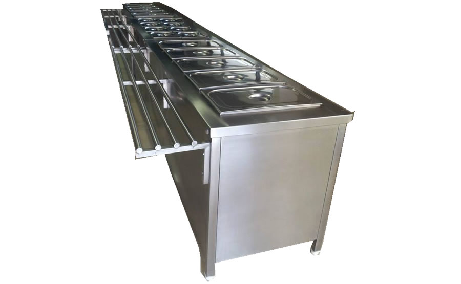 Bain Marie Counter Sm Canteen Equipments Pvt Ltd
